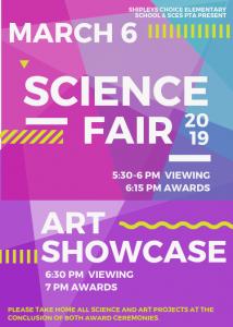 Science-Art flyer