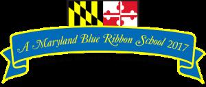 blue ribbon flag
